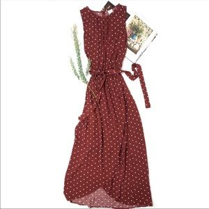 A new day Polka dot wrap summer dress